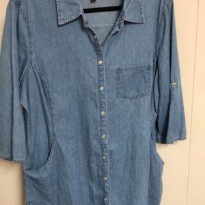 Hannah Denim Shirt